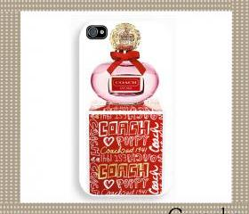 Coach Lovely Perfume Lovely Hard Case iPhone 4 Case, iPhone case, iPhone 4s Case, iPhone 4 Cover, Hard iPhone 4s Case Original Design