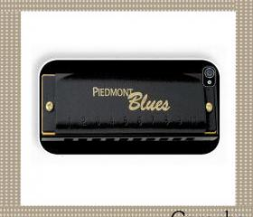 Blues Harmonica Hard Case iPhone 4 Case, iPhone case, iPhone 4s Case, iPhone 4 Cover, Hard iPhone 4s Case Original Design