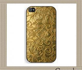 Golden Texture Hard Case iPhone 4 Case, iPhone case, iPhone 4s Case, iPhone 4 Cover, Hard iPhone 4s Case Original Design