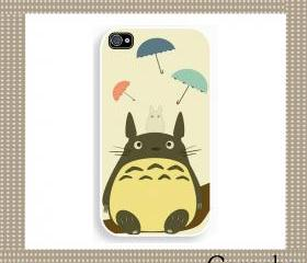 Totoro Hard Case iPhone 4 Case, iPhone case, iPhone 4s Case, iPhone 4 Cover, Hard iPhone 4s Case Original Design