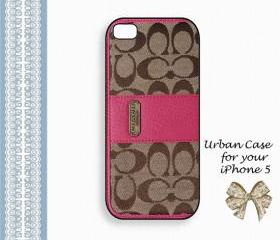 Coach Lovely Smart Case Hard Case iPhone 5 Case, iPhone case, iPhone 5 Case, iPhone 5 Cover, Hard iPhone 5 Case Original Design