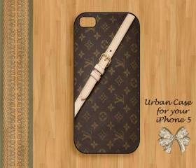 Louis Vuitton Smart Belt Smart Case Hard Case iPhone 5 Case, iPhone case, iPhone 5 Case, iPhone 5 Cover, Hard iPhone 5 Case Original Design