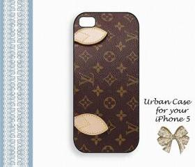 Louis Vuitton monogram Case Hard Case iPhone 5 Case, iPhone case, iPhone 5 Case, iPhone 5 Cover, Hard iPhone 5 Case Original Design