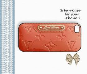 Louis Vuitton Louis Monogram Vernis Case Hard Case iPhone 5 Case, iPhone case, iPhone 5 Case, iPhone 5 Cover, Hard iPhone 5 Case Original Design