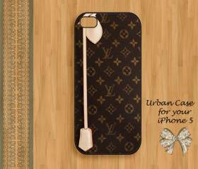 Louis Vuitton Smart Monogram Case Hard Case iPhone 5 Case, iPhone case, iPhone 5 Case, iPhone 5 Cover, Hard iPhone 5 Case Original Design