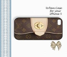 Wallet for Louis Vuitton Smart Monogram Case Hard Case iPhone 5 Case, iPhone case, iPhone 5 Case, iPhone 5 Cover, Hard iPhone 5 Case Original Design