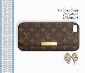 Wallet for Louis Vuitton Smart Monogram2 Case Hard Case iPhone 5 Case, iPhone case, iPhone 5 Case, iPhone 5 Cover, Hard iPhone 5 Case Original Design