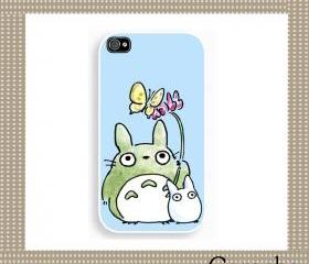 Totoro My Neighbor7 Hard Case iPhone 4 Case, iPhone case, iPhone 4s Case, iPhone 4 Cover, Hard iPhone 4s Case Original Design