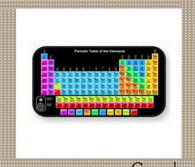 Periodic table Hard Case iPhone 4 Case, iPhone case, iPhone 4s Case, iPhone 4 Cover, Hard iPhone 4s Case Original Design